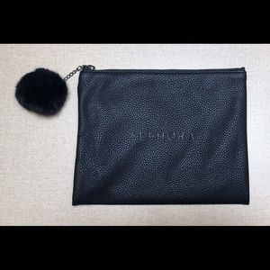 ✨BUY 2 GET 1✨ Sephora; black makeup bag